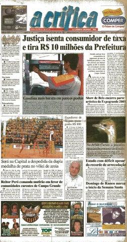 f80e448a1727 Jornal A Critica - Edição 1023- 08/04/2001 by JORNAL A CRITICA - issuu