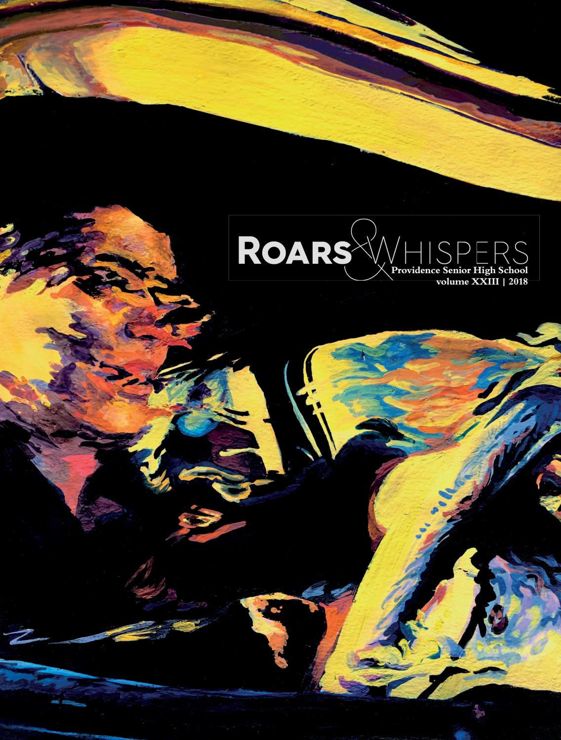 Roars and Whispers Volume XXIII 2018 by Roars and Whispers