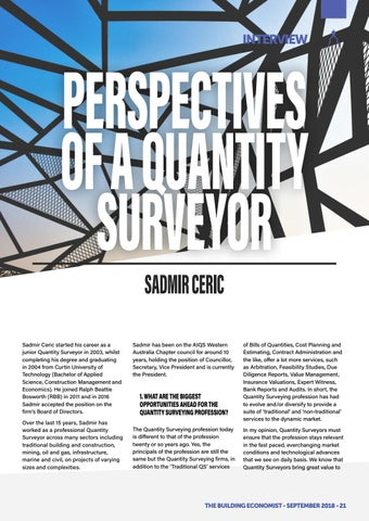 Page 23 of Perspectives of a Quantity Surveyor