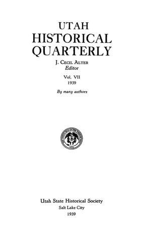 5c7f976515f Utah Historical Quarterly