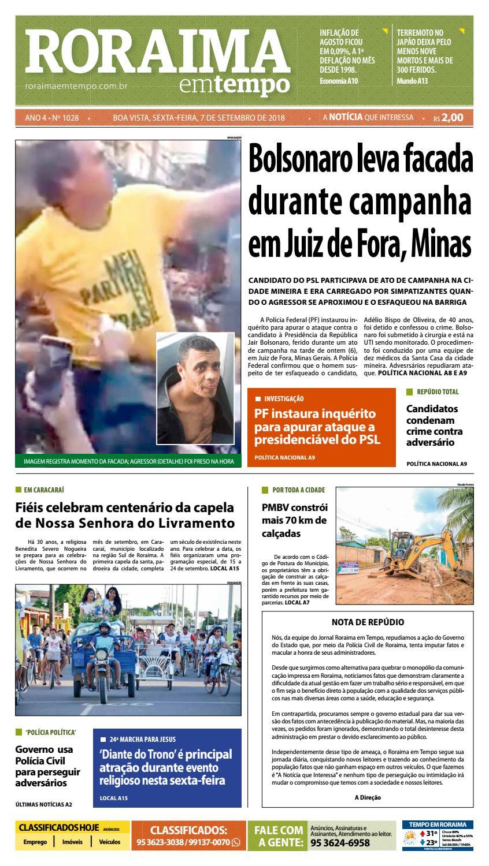 9ff6fbe9f638b0 Jornal Roraima em tempo – edição 1028 by RoraimaEmTempo - issuu