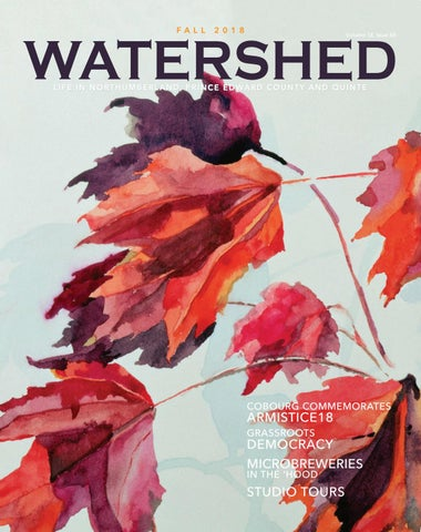 1869f74fc8 Watershed Magazine - Fall 2018 by Watershed Magazine - issuu