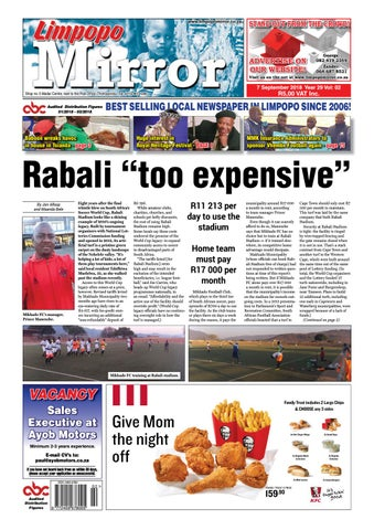 7 September 2018 Limpopo Mirror By Zoutnet Issuu