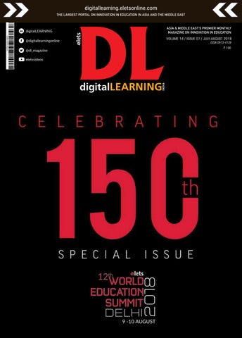 DigitalLERANING-July-August-2018 by digital LEARNING