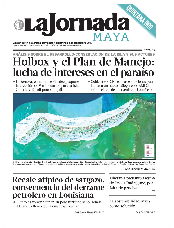 La Jornada Maya · viernes 7 de septiembre de 2018 by La Jornada Maya ...
