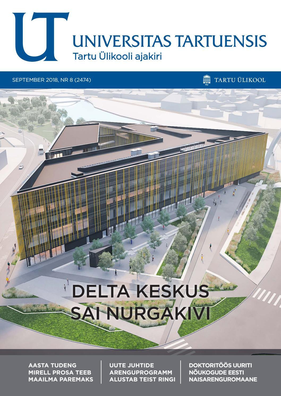 c908223030a UT september 2018, nr 8 by Universitas Tartuensis - issuu