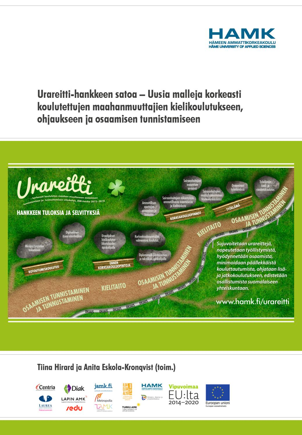 Urareitti-hankkeen satoa by HAMK Häme University of Applied Sciences - issuu 7cbabd7170