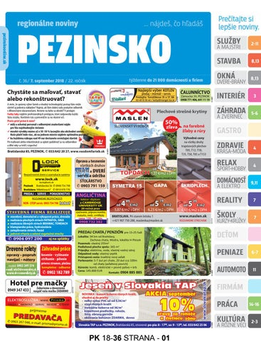 a8b961ddeaa9 PEZINSKO 18-36 by pezinsko - issuu