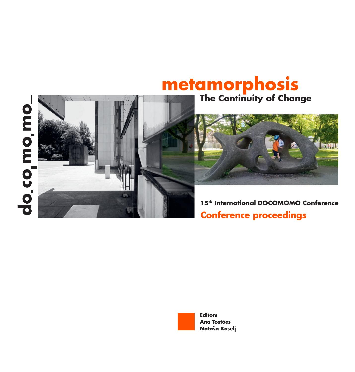Metamorphosis The Continuity of Change by do omo slovenija issuu