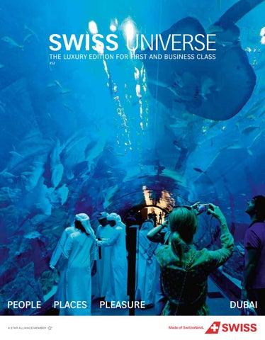 SWISS Universe Autumn 2018 - DUBAI by Swiss International ...