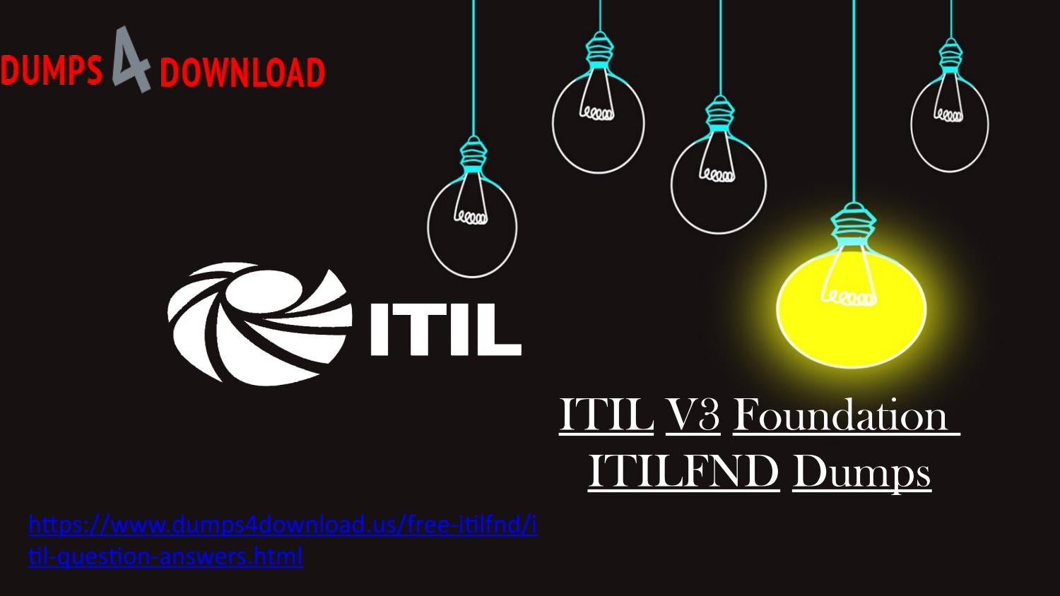 Download Itil Itilfnd Exam Latest Question Answers Updated Itil