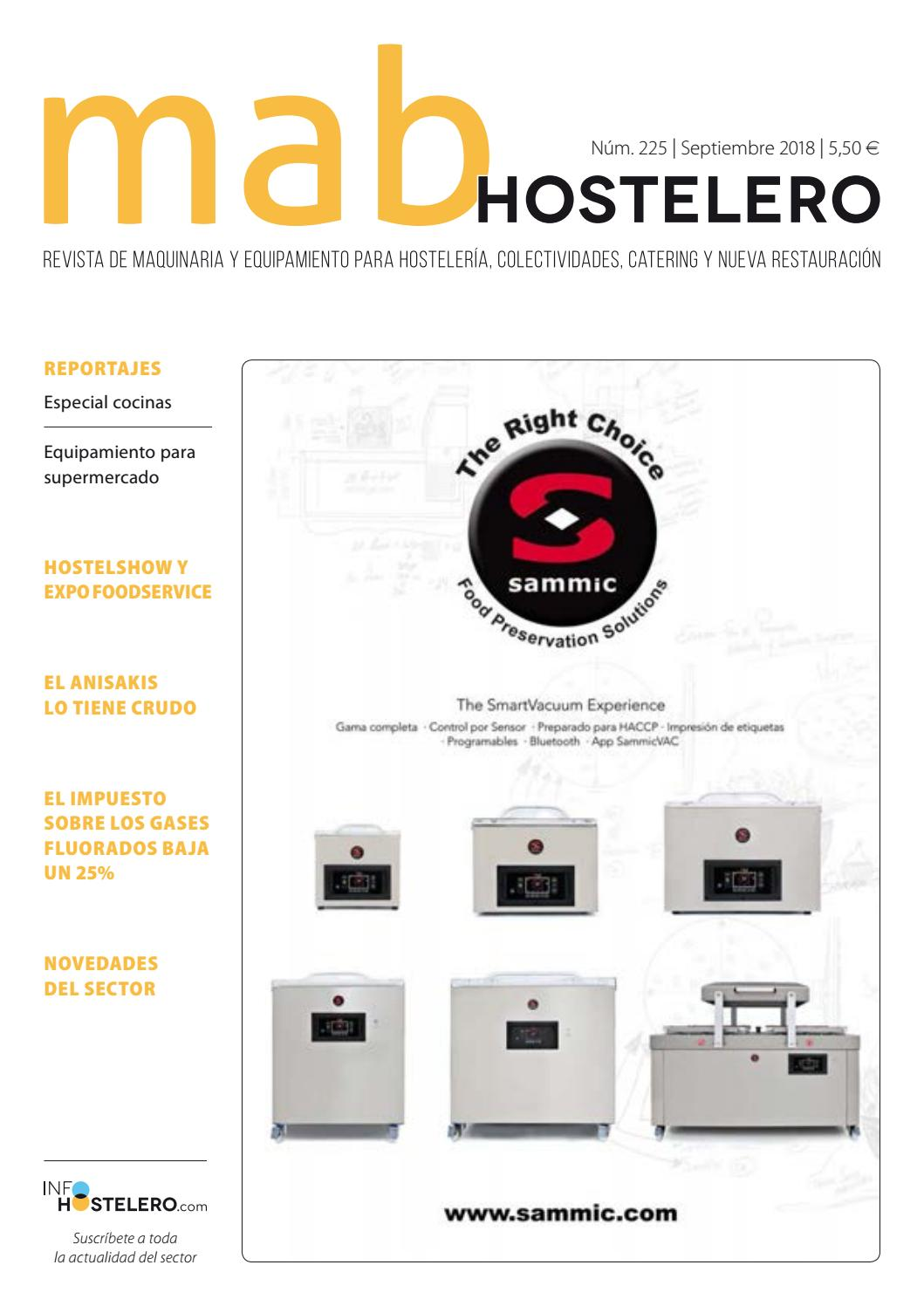 MAB Hostelero - 225 by Peldaño - issuu 030bfa2e3b47