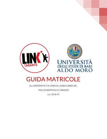Calendario Lezioni Uniba.Guida Matricole All Universita E Ai Corsi Di Laurea Uniba