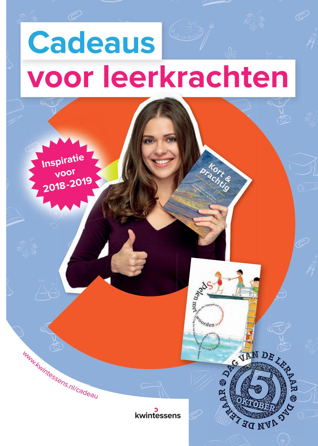 Dag Van De Leraar 2018 Kwintessens By Kwintessens Issuu