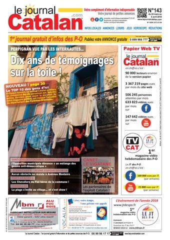 Le Journal Catalan N ° 143 - Pyrénées-Orientales by LE JOURNAL ... 1f2beb343d4
