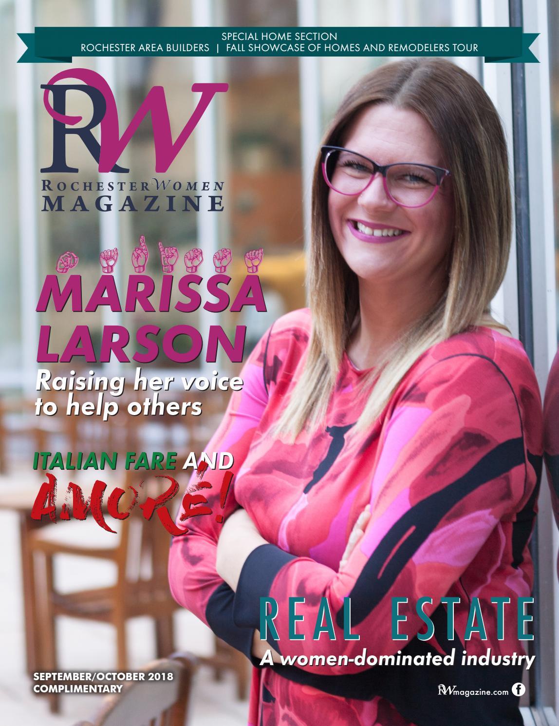 Rochester Women Magazine September/October 2018 by Rochester