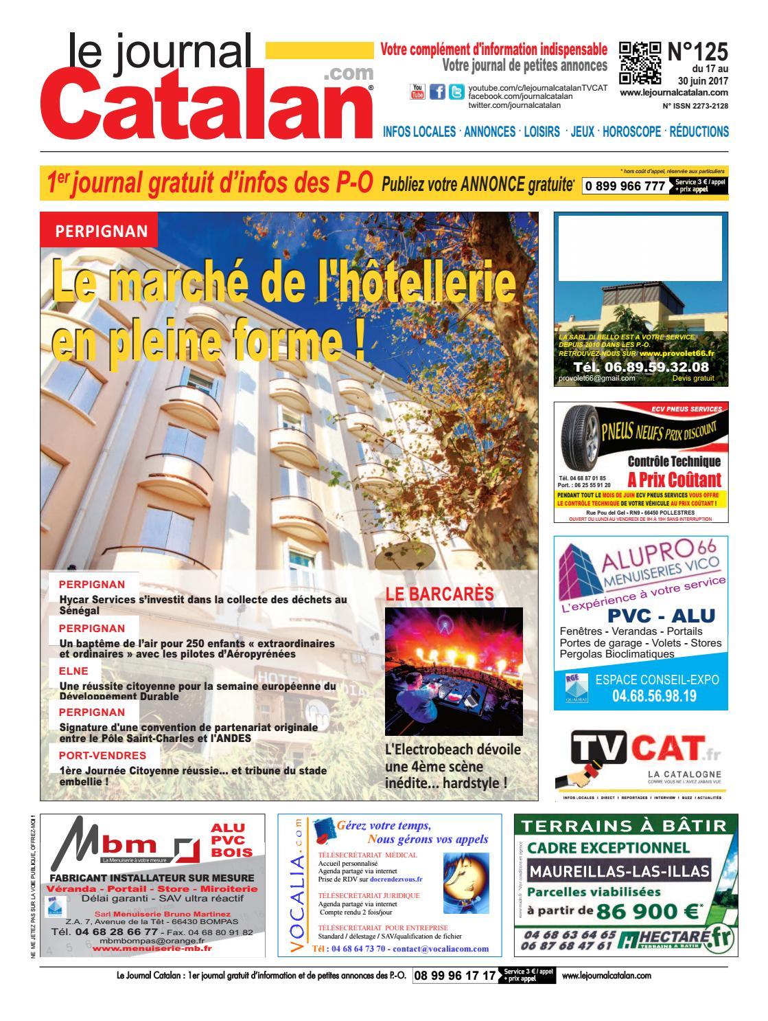le journal catalan n 125 pyr n es orientales by le. Black Bedroom Furniture Sets. Home Design Ideas