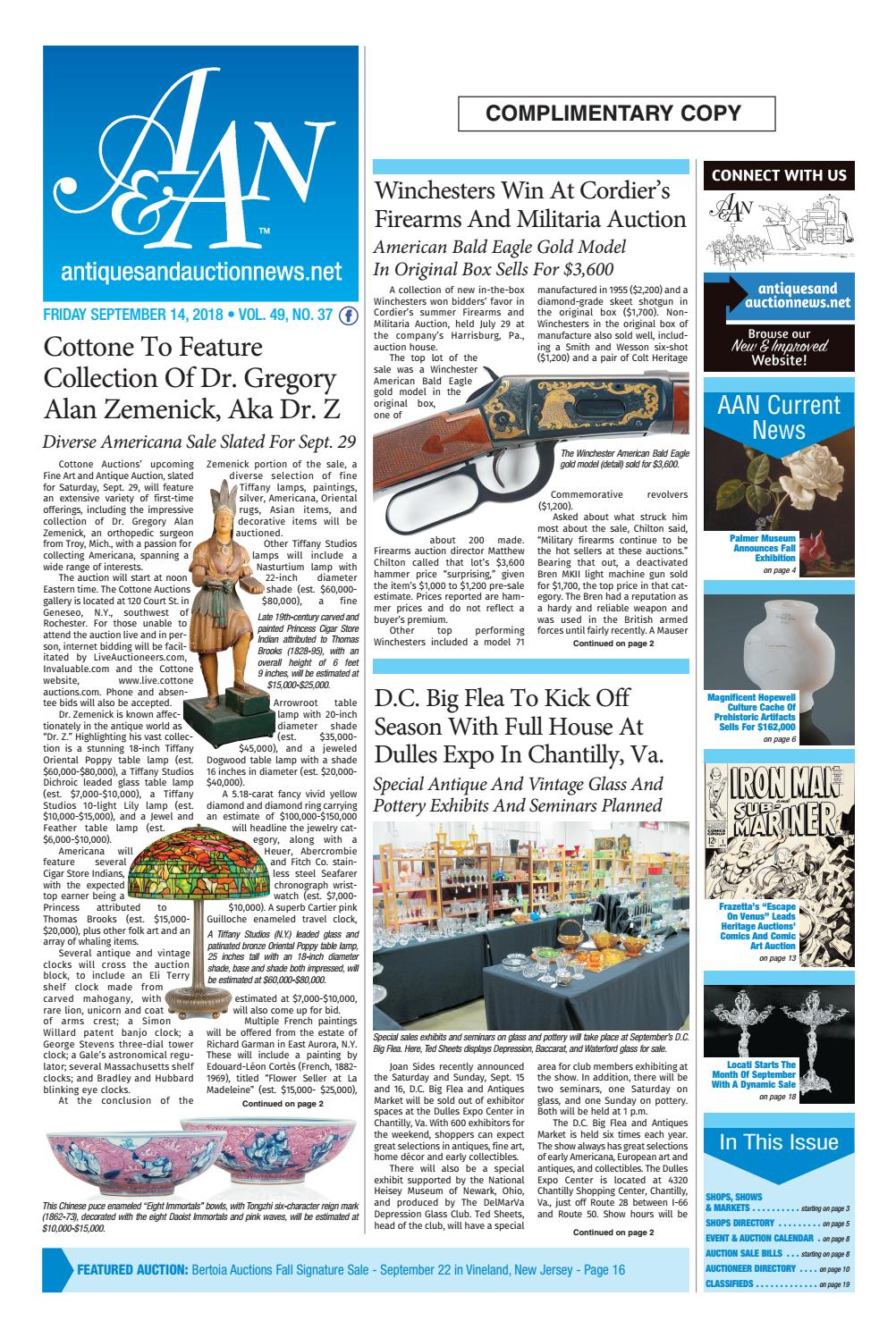 e1f90542032a24 Antiques   Auction News 091418 by Antiques   Auction News - issuu