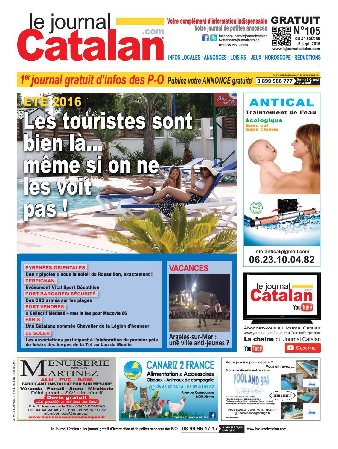 Catalan Le Journal Pyrénées By Orientales N°105 zMGVUqSp