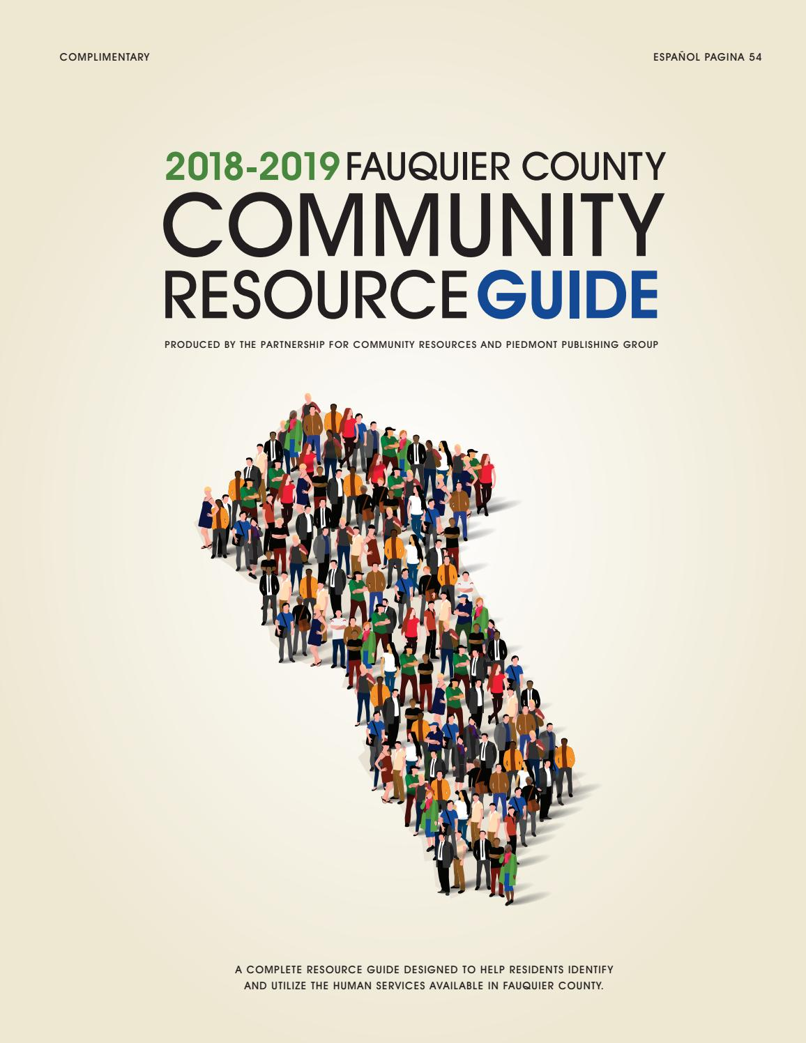 Fauquier Resource Guide 2018 by Piedmont Publishing Group - issuu b1e8ede523460