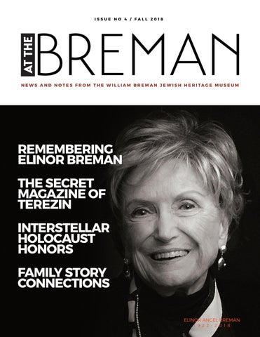 fdf6583c2d4d9f AT THE BREMAN Issue  4 Fall 2018 by The Breman Museum - issuu