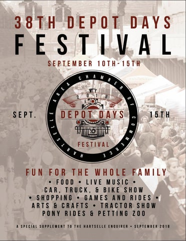Depot Days By Hartselle Newspapers Issuu