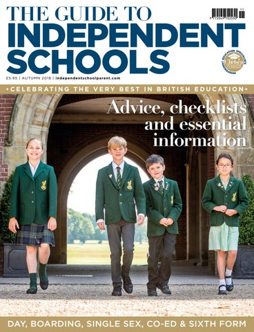 new concept 46412 8bb23 Independent School Parent Schools Guide Autumn 2018 by The Chelsea ...
