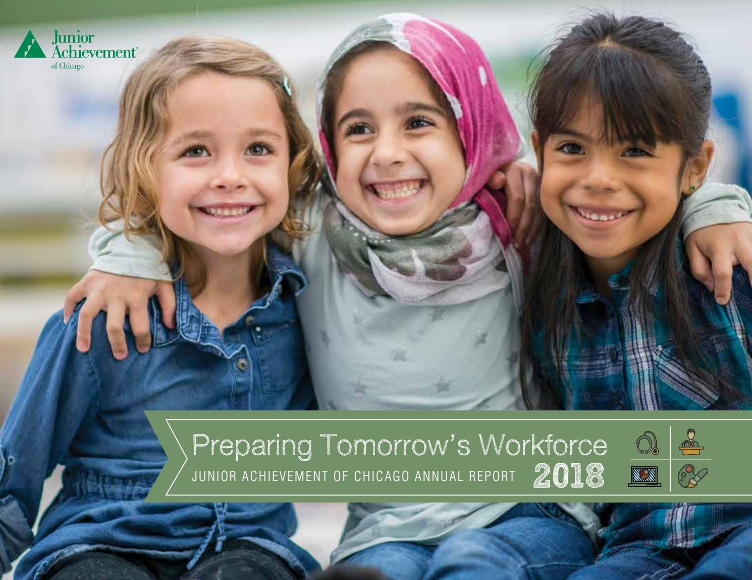 2018 Annual Report by Junior Achievement of Chicago - issuu