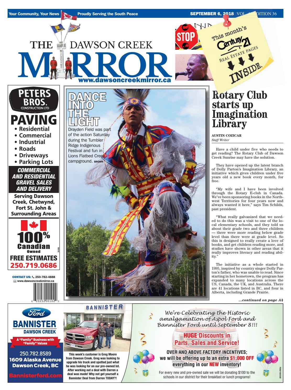 Dawson Creek Mirror 2018-0906