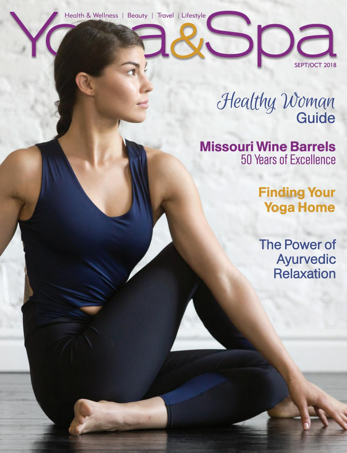 be15e173d Yoga & Spa Magazine Sept/Oct 2018 Healthy Woman Issue by Yoga & Spa  Magazine - issuu