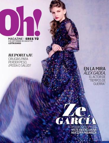 d5e4747ac Oh Magazine 08-09-2018 by Listín Diario - issuu