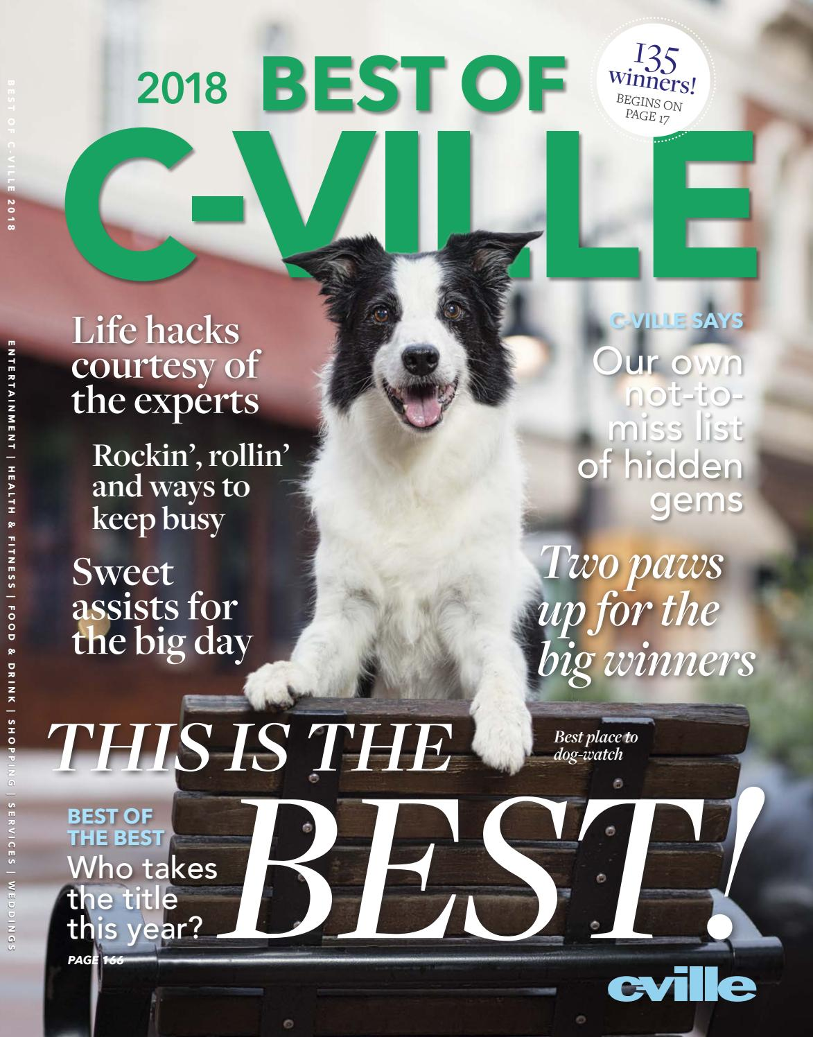 63d0492618 Best of C-VILLE 2018 by C-VILLE Weekly - issuu