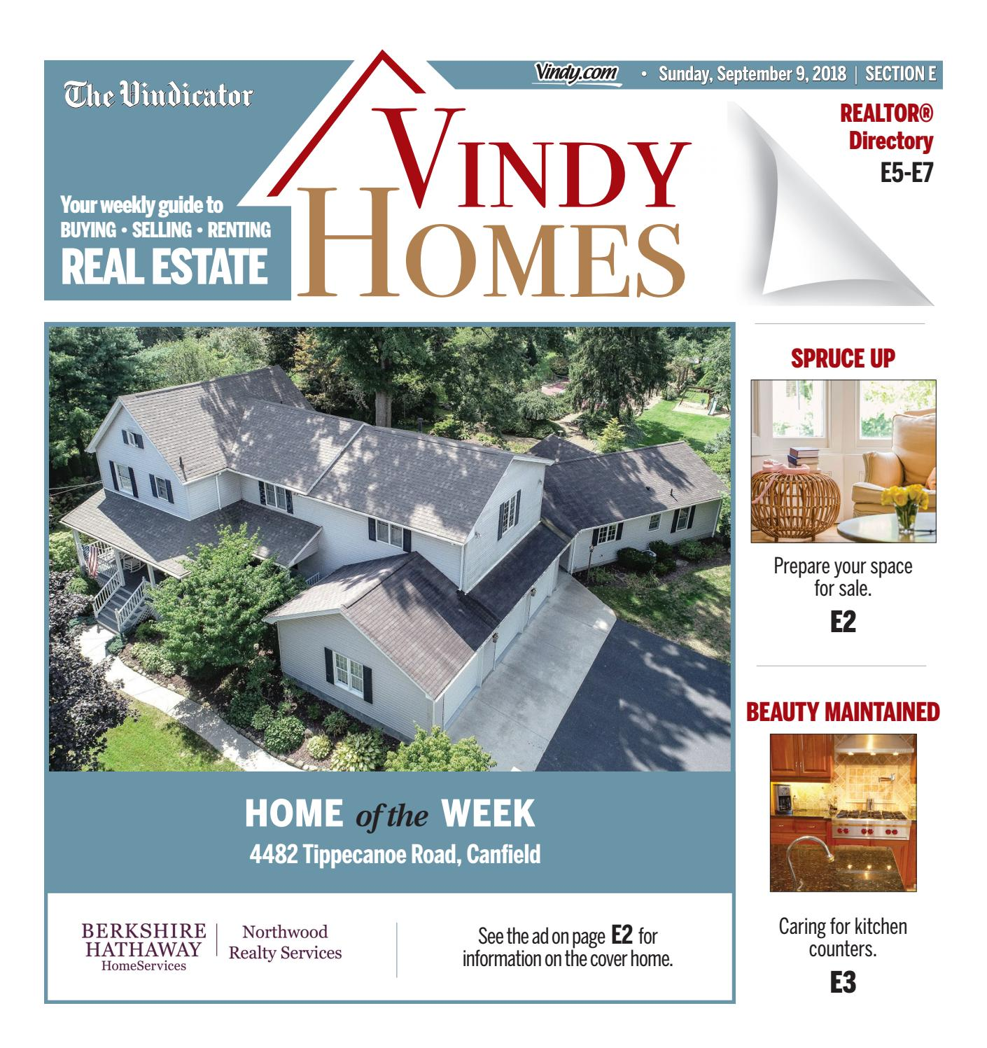 Vindy Homes 9-9-2018 by The Vindicator - issuu