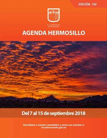 """Cover of """"Agenda Hermosillo #130"""""""