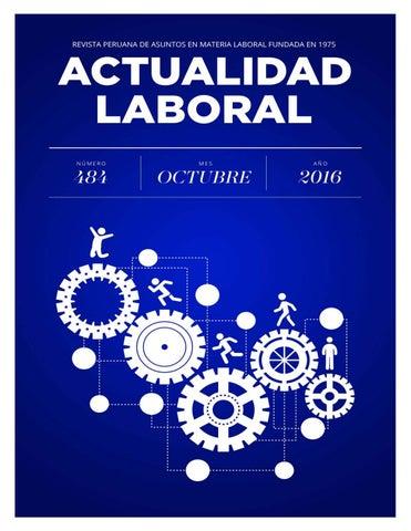 2016 Octubre By Actualidad Laboral Issuu