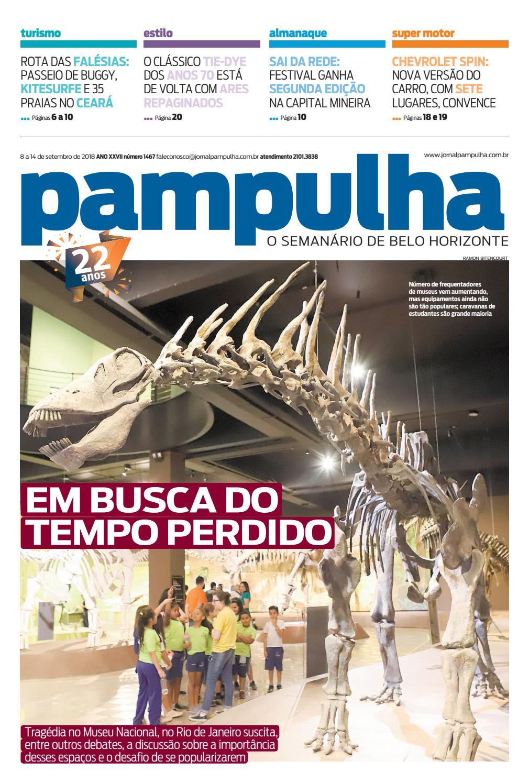 Pampulha - 08 a 14 de setembro de 2018 by Tecnologia Sempre Editora - issuu a38e92df70889