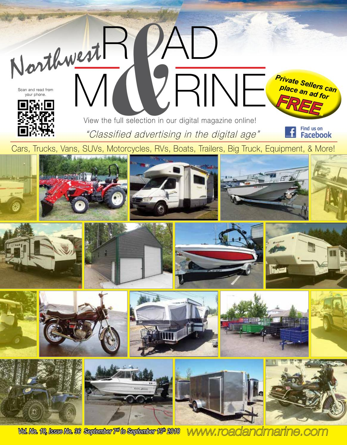 Road and Marine Magazine Vol 18 #36 by Road & Marine
