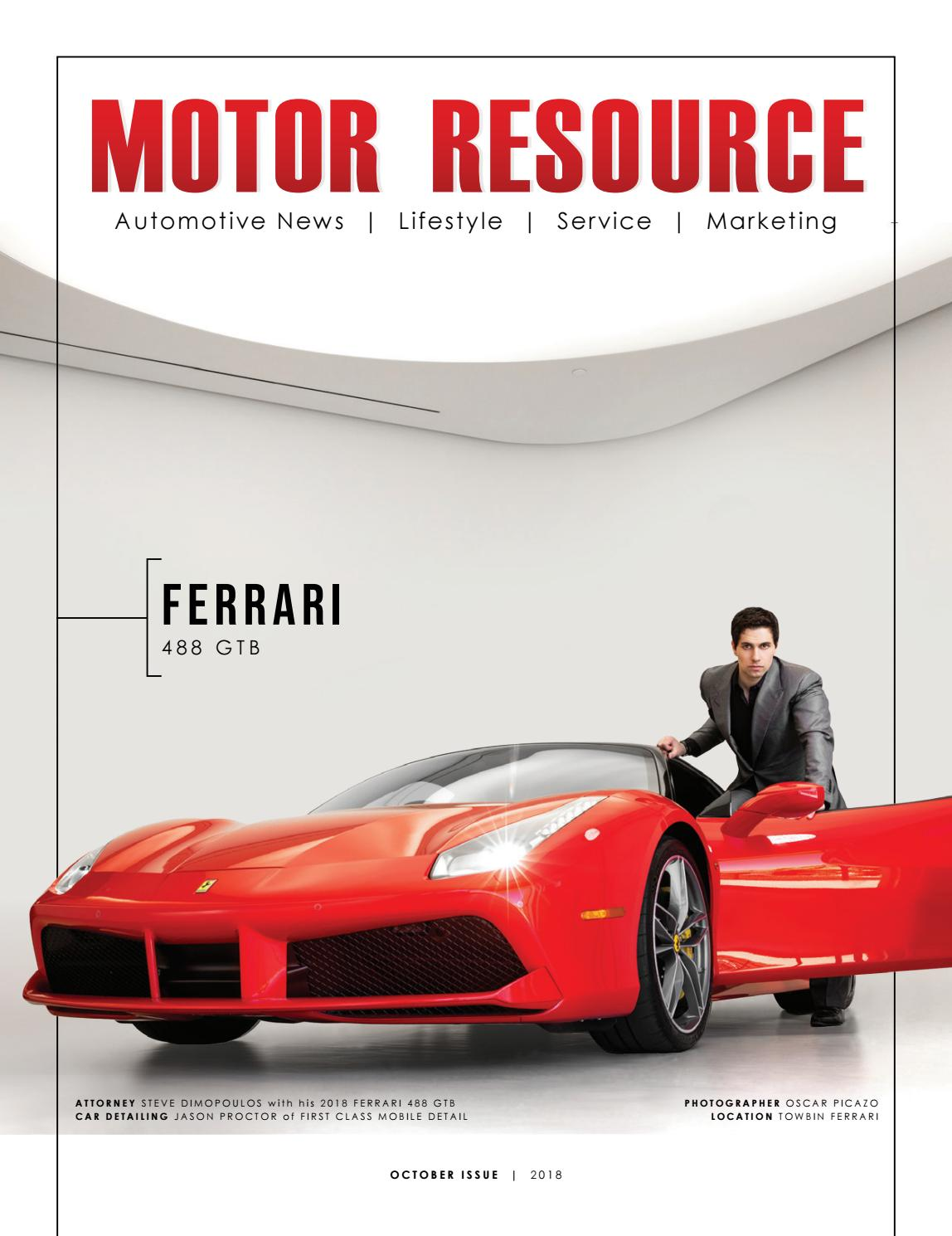 October Issue 2018 By Motor Resource Issuu