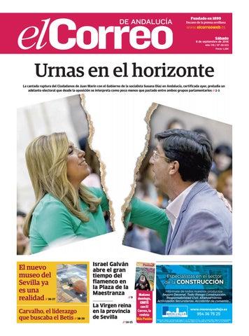 08.09.2018 El Correo de Andalucía by EL CORREO DE ANDALUCÍA S.L. - issuu 7b787060e6d