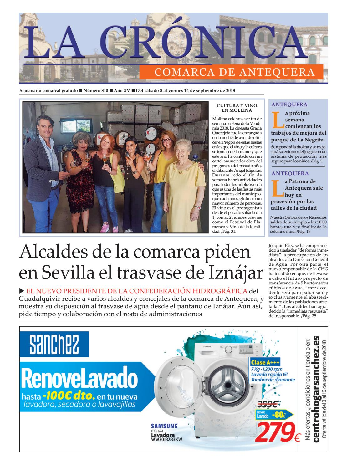 LA CRÓNICA 810 by LA CRÓNICA COMARCA DE ANTEQUERA - issuu