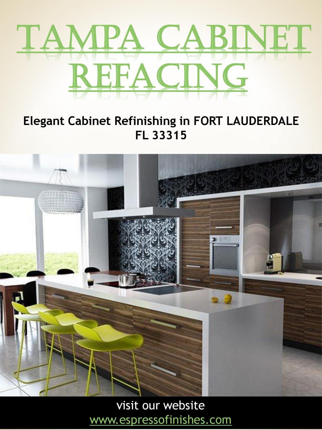Tampa Cabinet Refacing By Tampacabinetrefacing Issuu