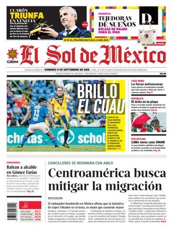 28f4c218e El Sol de México 9 de septiembre del 2018 by El Sol de México - issuu