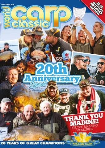 World Carp Classic 2018 Official Magazine By Angling Spirit Issuu