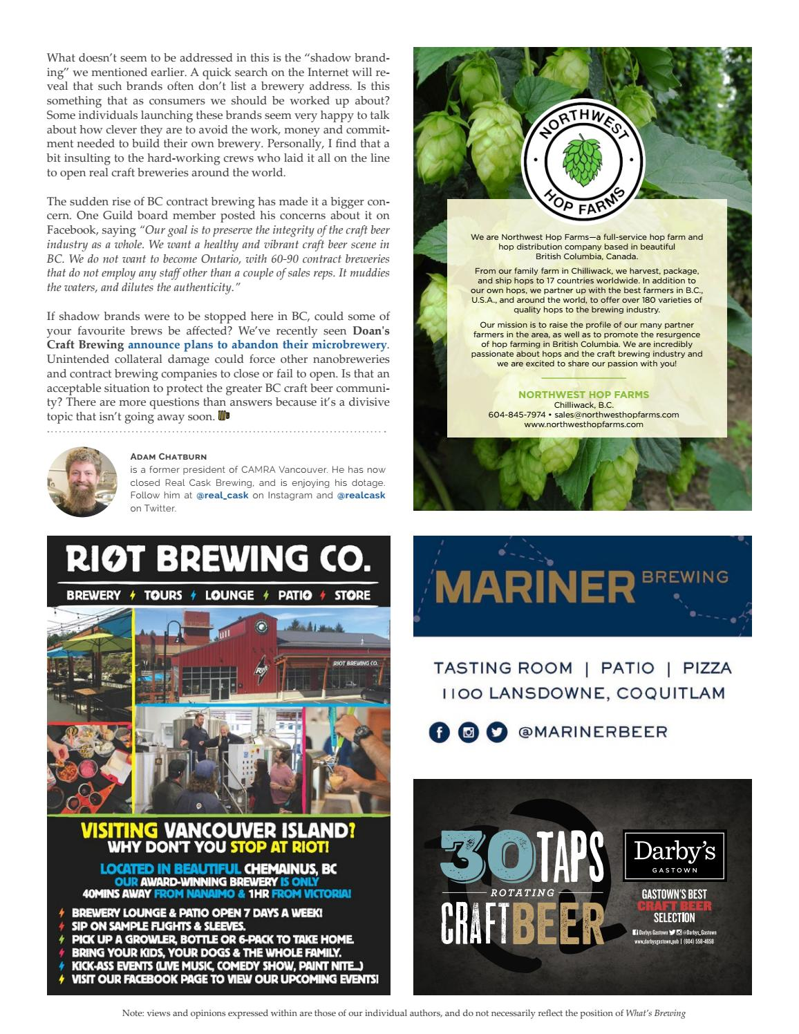 What's Brewing Fall 2018 by What's Brewing BC - issuu