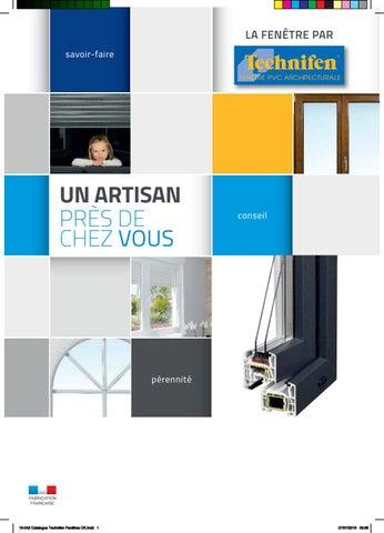 Catalogue Fenêtre Pvc Technifen By Technifen2018 Issuu