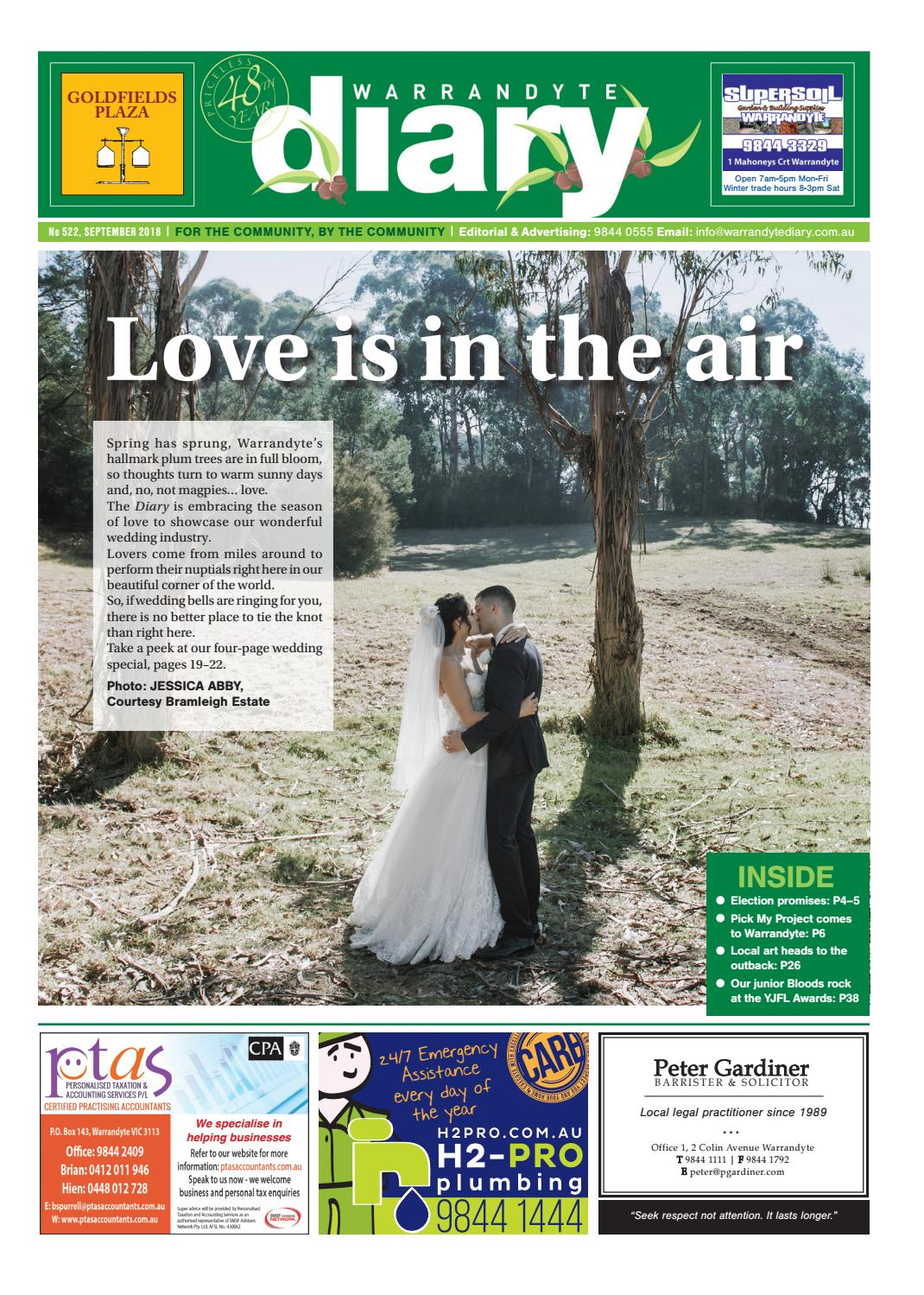 Warrandyte Diary September 2018 By Warrandytediary Issuu Electrical Wiring At Home The Ring Circuit Fizzics