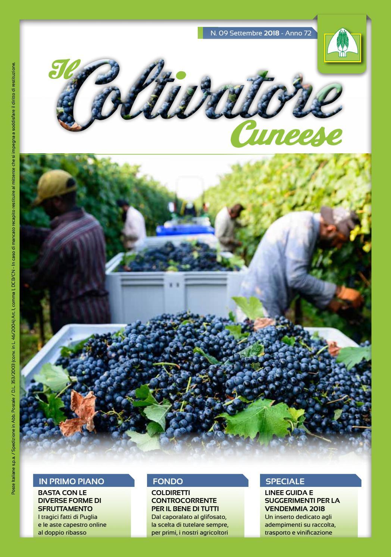 Calendario Donne E Trattori.Coltivatore Cuneese N 09 Anno 2018 By Federazione
