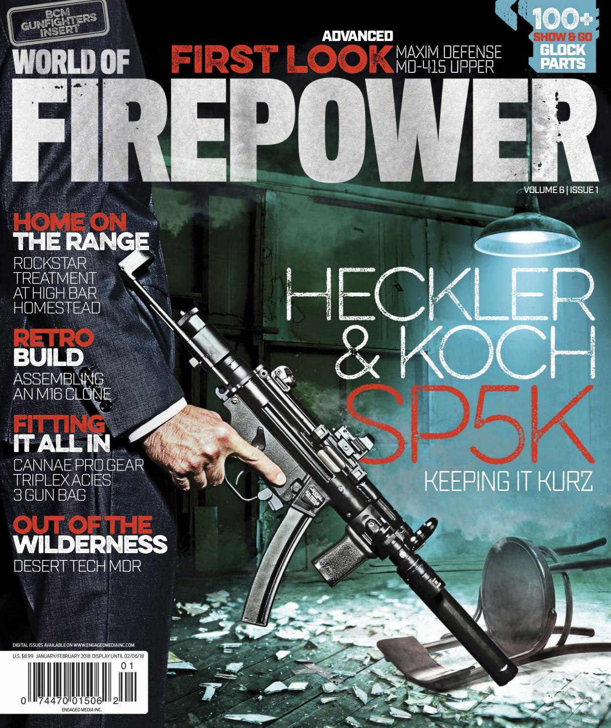 World of Firepower - January February 2018 by Vadim Koval