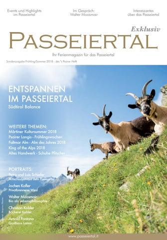 Passeiertal Exklusiv Frühling/Sommer 2018   TV Passeiertal By MP ...