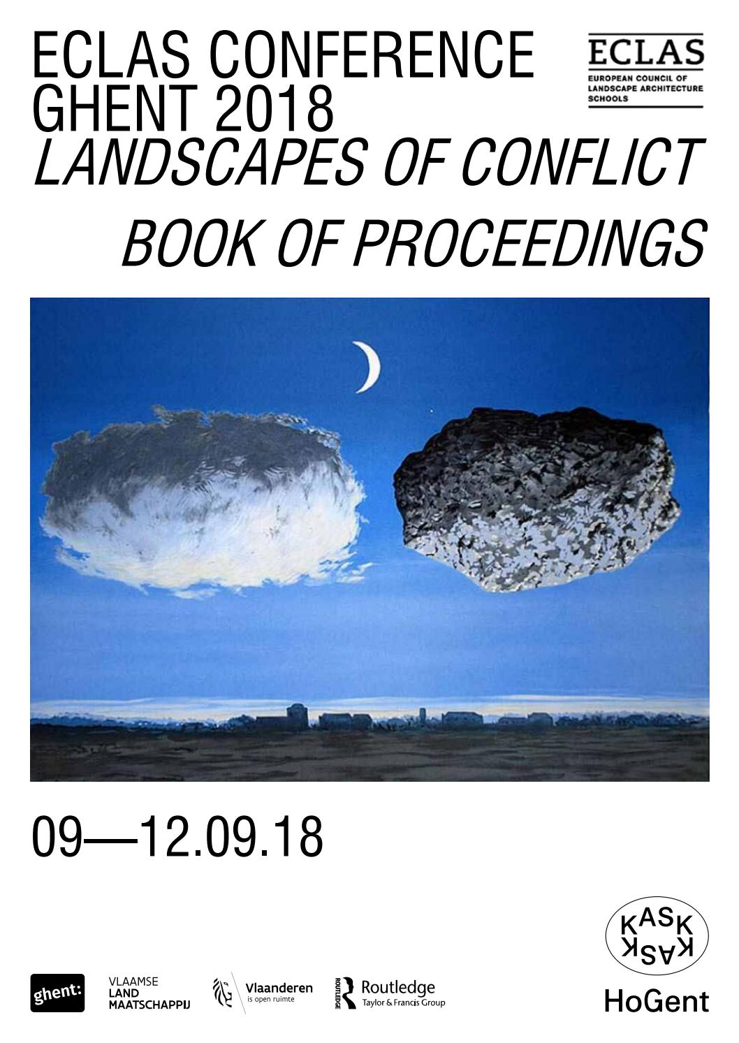 0d852cfe0e38aa ECLAS Conference Ghent 2018 - Book of Proceedings by KASK   Conservatorium    School of Arts Gent - issuu